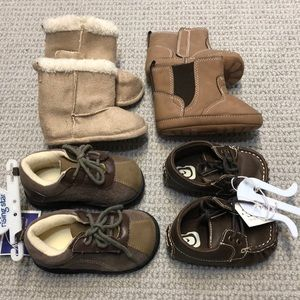 Other - Baby boy shoes bundle.